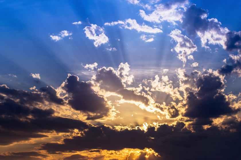 air atmosphere beautiful blue