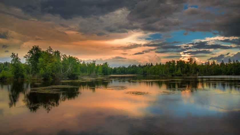 abendstimmung atmospheric background beautiful